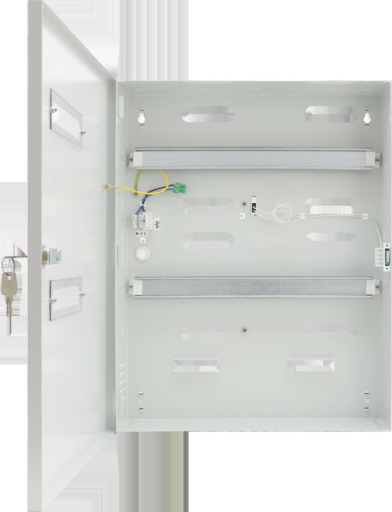 Chłodny Obudowy metalowe - Naścienne IS34