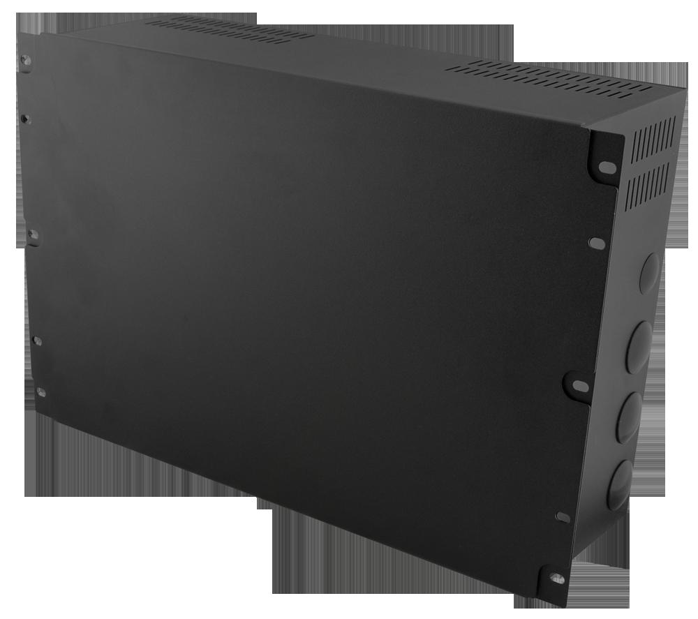 "Gehäuse RACK Security 7U/150mm/17Ah für Schränke RACK 19"" zweistufig ..."