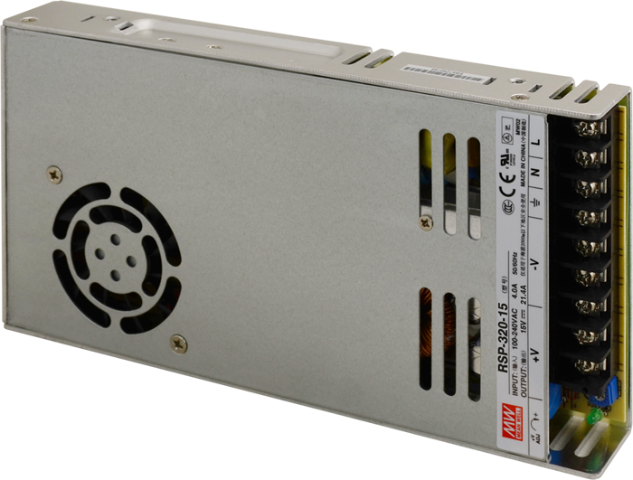 RSP-320-15 Alimentazione 320W 15V 21,4A ; MeanWell