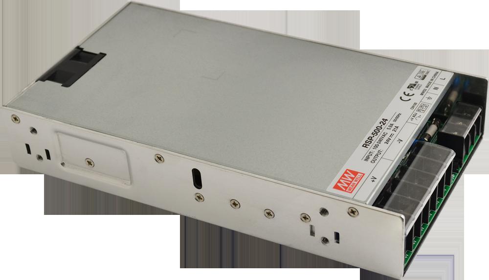 RSP 24V/500W/21A enclosed power supply unit - RSP-500-24